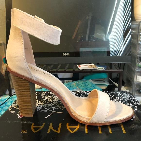 GoJane Shoes - LiLANA beige heels